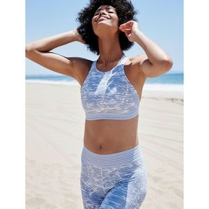 Free People // Printed Strappy Back Sports Bra